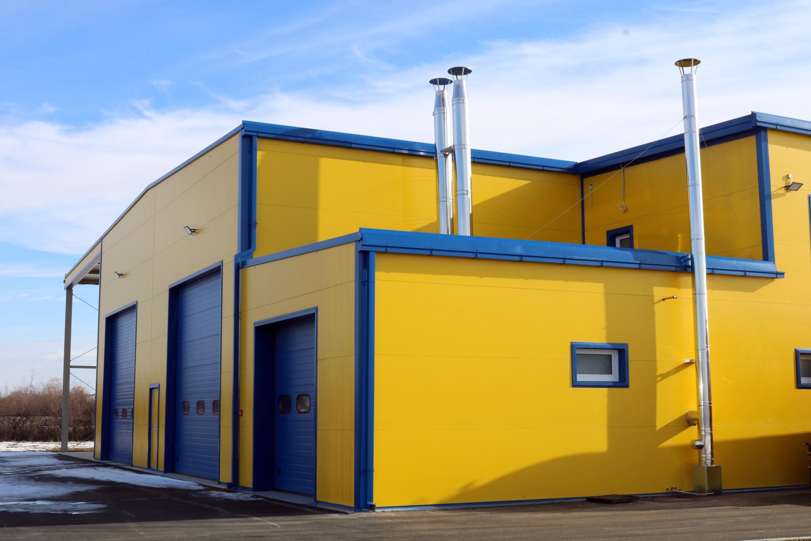 """Der neue Betrieb des """"Autoprijevoz Mioč"""" befindet sich in Antunovac, bei Osijek."""